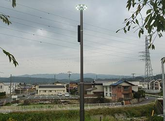 瑞浪市内 公園内照明灯LED化(公共)