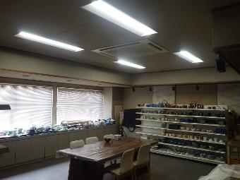 土岐市内 事業所 Y様 事務所内の照明をLED化