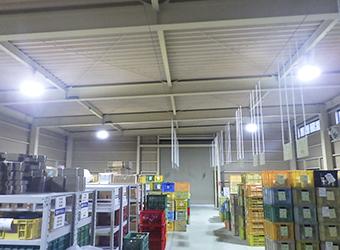 土岐市内 K製陶所 様 工場内の蛍光灯をLED化