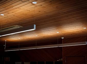 土岐市内 事業所 K様 事務所内の照明をLED化